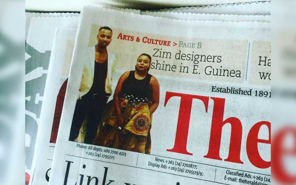 Zim designers steal the show in E. Guinea