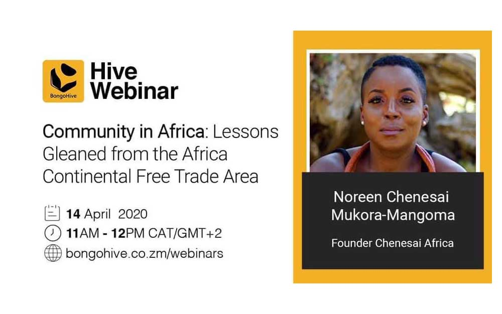 The Hive Webinar Community in Africa Lessons Gleaned from the Africa Continental